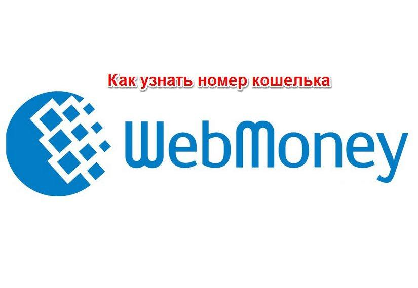 узнать номер своего кошелька в Webmoney